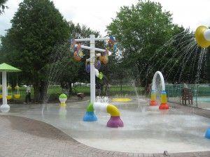 Mississauga Splash Pads-List of locations