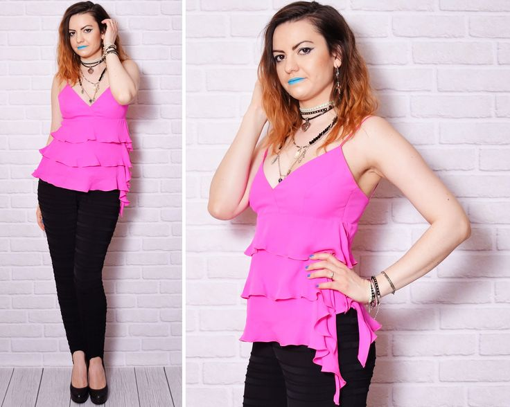 ruffle top outfit summer