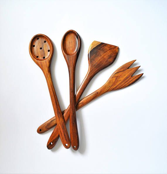 Kitchen spoon set Kitchen set Wooden kitchen spoon set