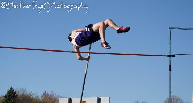 Heather Frye Photography | Hampden Maine | Track | Pole Vaulter