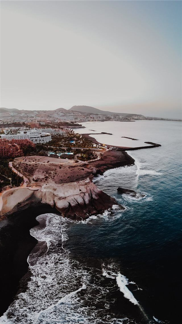 Tenerife Spain Iphone 8 Wallpaper In 2019 City Iphone