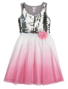 Embellished Dip Dye Tutu Dress