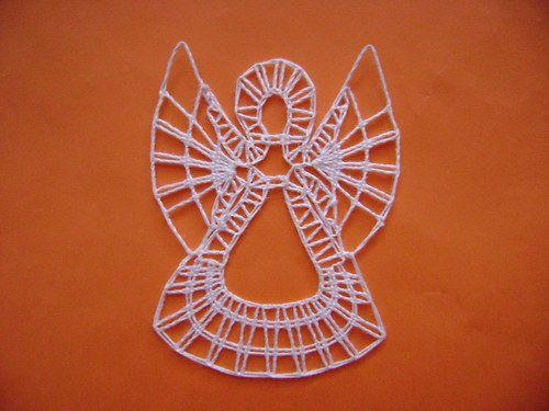paličkovaný Andělíček č.1