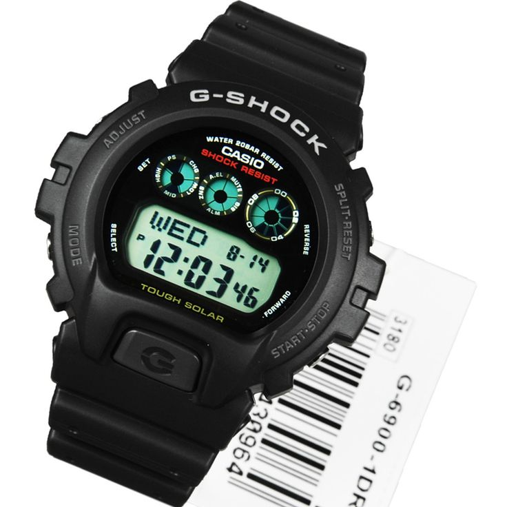 A-Watches.com - Casio G-Shock Solar Digital Sports Watch G-6900-1DR, $83.00 (http://www.a-watches.com/casio-g-shock-g-6900-1dr/)