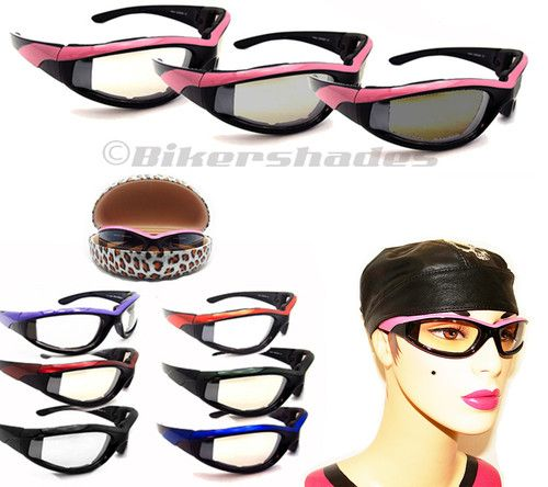 Transition Lady Women Motorcycle Riding Biker Glasses | eBay