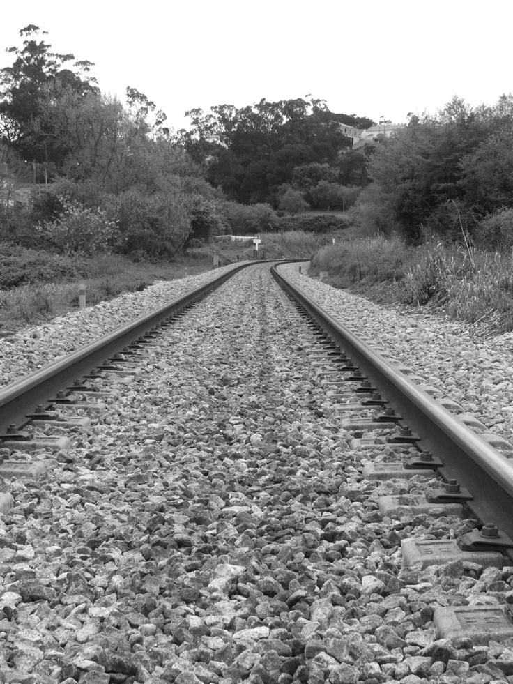 Linha férrea, Sapataria, Sobral de Monte Agraço, Autor: Nelson Gaspar