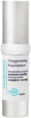 One of the new shades, Opal! Apply makeup and improve your skin! Oxygenetix Foundation - Opal contains Ceravitae Complex, a patent-pending formula that is proven to increase oxygen levels, stimulate cell production, and promote post-procedure skin healing. The formula is water resistant for up to 90 minutes, transfer resistant, and contains SPF 25. It's completely non-irritating to the most sensitive skin types, including acne, rosacea, psoriasis, and eczema-prone. Via www.Skincarerx.com