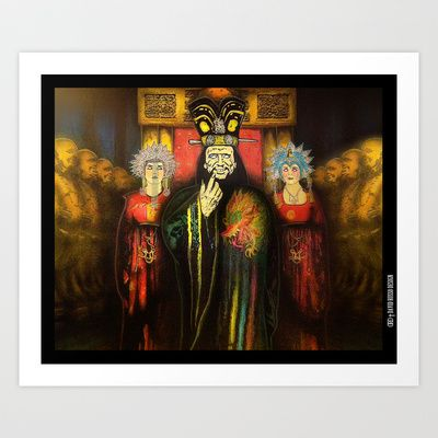 Big Trouble In Little China: Lopan's Domain Art Print by DRD † David Russo Design - $17.68