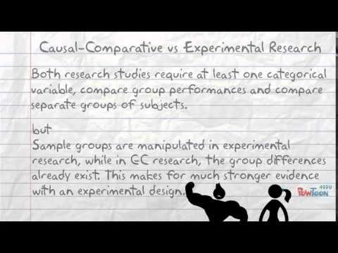 Experimental research thesis in education