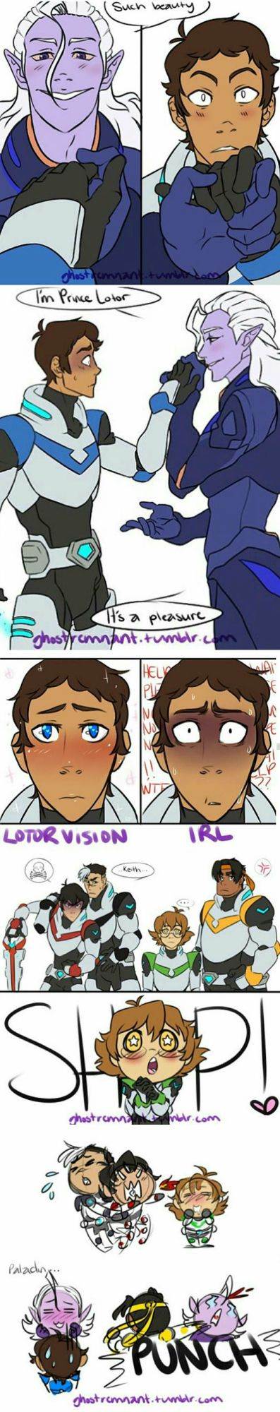 don't ship lotor and lance, but this would be hilarious in an episode