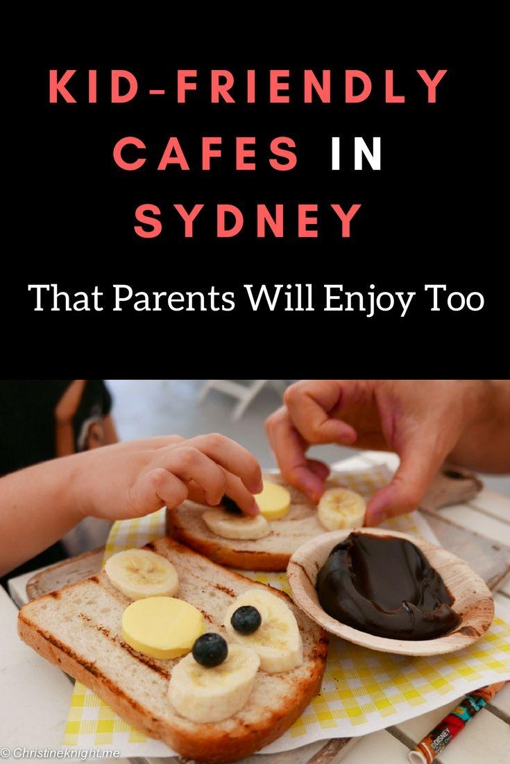 Kid-friendly Cafes in Sydney, Australia