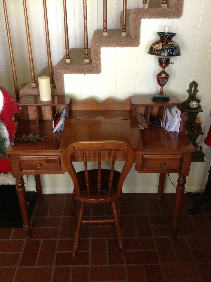 Ethan Allen Used Furniture >> I want to find one of these!!! Tell City Overseer's Desk ...
