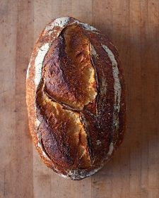 Chad Robertson's Tartine Country Bread--Chad Robertson of San Francisco's Tartine Bakery & Cafe describes a starter -- a mixture of flour, water, wild yeasts, and bacteria -- as a baker's fingerprint. Making one is simple, but it does require a commitment: Count on feeding and caring for the mixture for three weeks before you start baking.