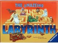 The aMAZEing Labyrinth ~ The board moves with each turn!  There's a bit of luck mixed with a bit of chess-like strategy.