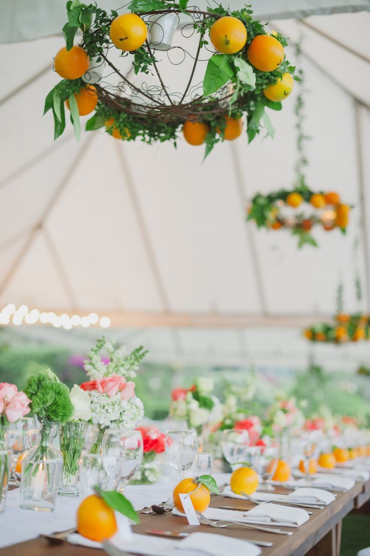 photo: Stacy Able Photography; brunch wedding ideas