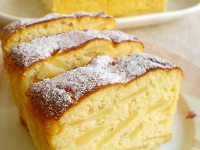 ノンオイル☆ノン小麦粉☆おから林檎ケーキの画像