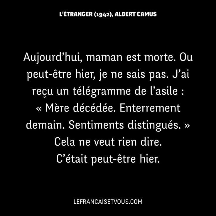 Etranger+Albert+Camus have good books.: L'étranger by Albert Camus