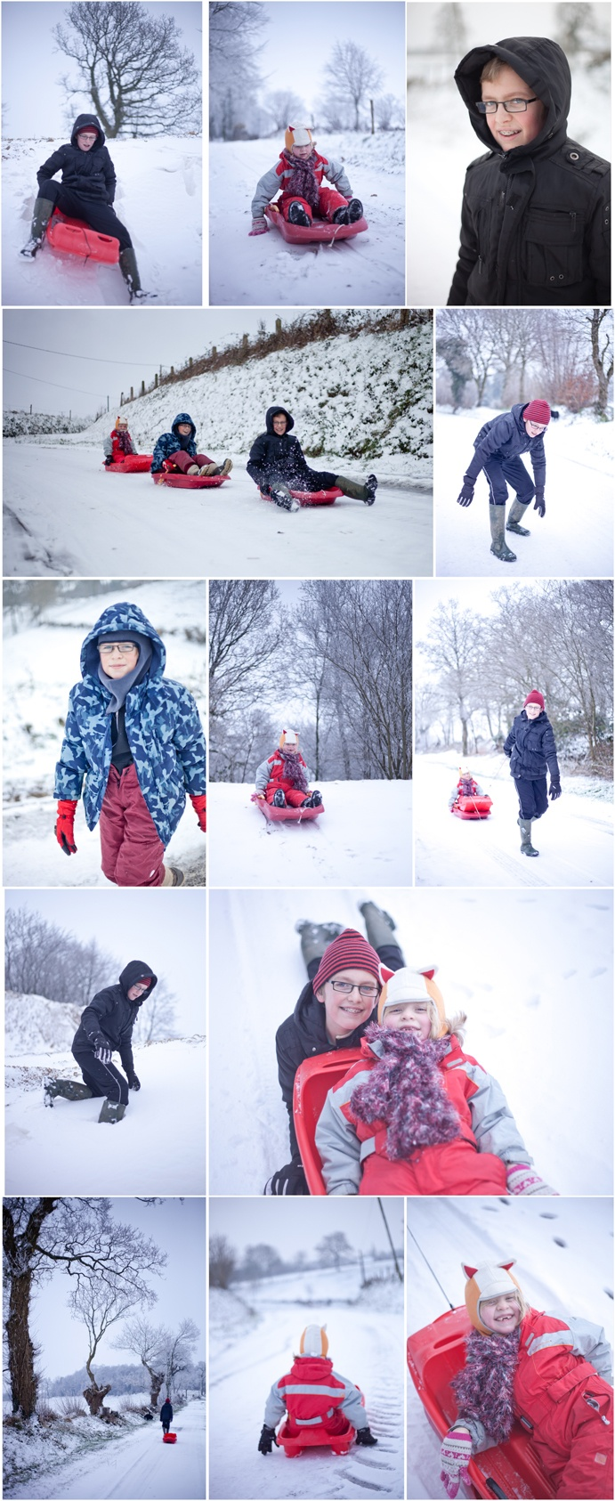 Great fun doing a children's portrait session in the snow in Normandy, France (Villedieu-les-poeles, Manche)    http://photos.anibasphotography.fr/seance-photo-enfants-dans-la-neige-en-basse-normandie