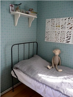 blue: Chambre d'enfant.