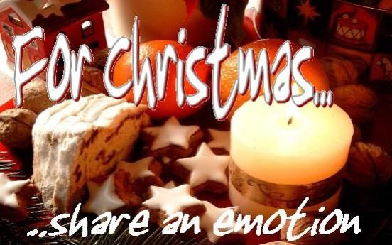 For Christmas share an unforgettable emotion…