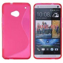 Forro HTC One - Sline Roja  Bs.F. 33,56