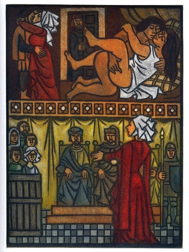 "Decameron Tarot Deck Boxed 78 Card Set With Instruction: Pin By Ars Liber On ""El Decamerón"" Ilustrado. Sexta"
