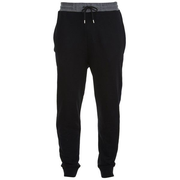 McQ Alexander McQueen Men's Rib Sweatpants - 3 Tone Mix ($130) ❤ liked on Polyvore featuring men's fashion, men's clothing, men's activewear, men's activewear pants, pants, men and multi