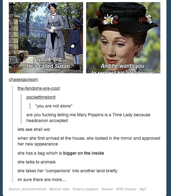 Mary Poppins: Time Lady