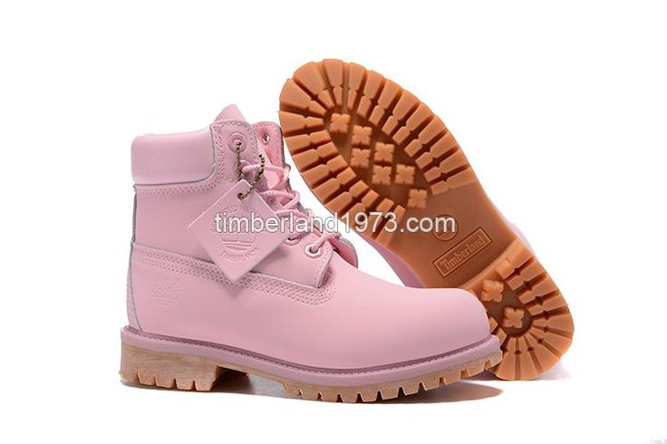 New Fashion Timberland Kid's 6-Inch Premium Waterproof Boots - Baby Pink $64