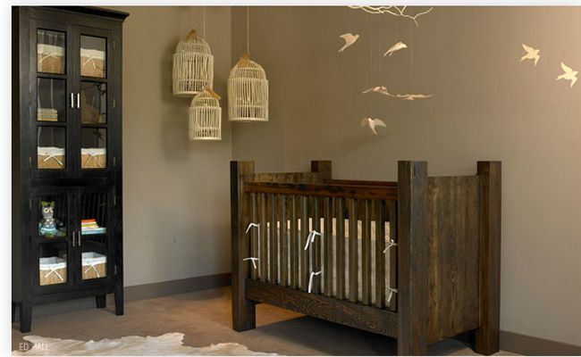 natural baby nursery themed rooms | Nature-Themed Nurseries You'll Go Wild For