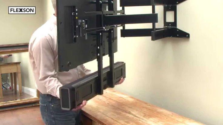 Flexson Cantilever Mount For Sonos Playbar Living Room