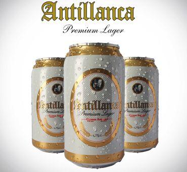 Cerveza chilena en lata ANTILLANCA