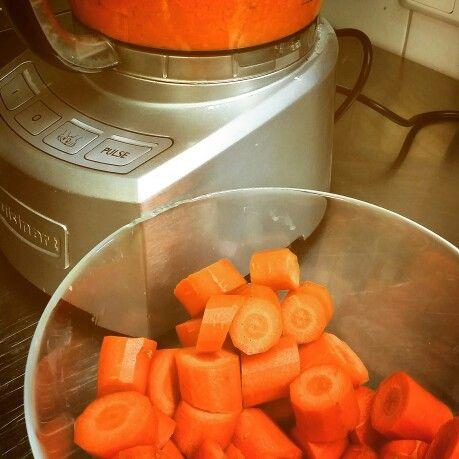 Carrot Cake in the make!