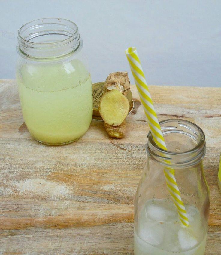 Bevanda allo zenzero e limone, per rinfrescarsi in queste giornate d'estate . www.elisainthesweetlife.ifood.it