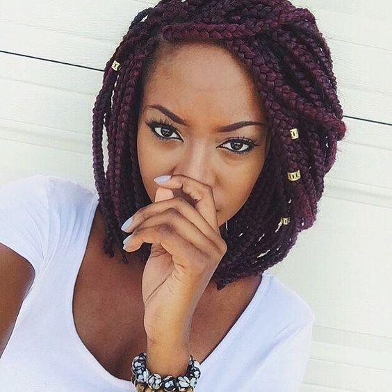 10 Chic trenzas africanas de América: La Nueva caliente Mira