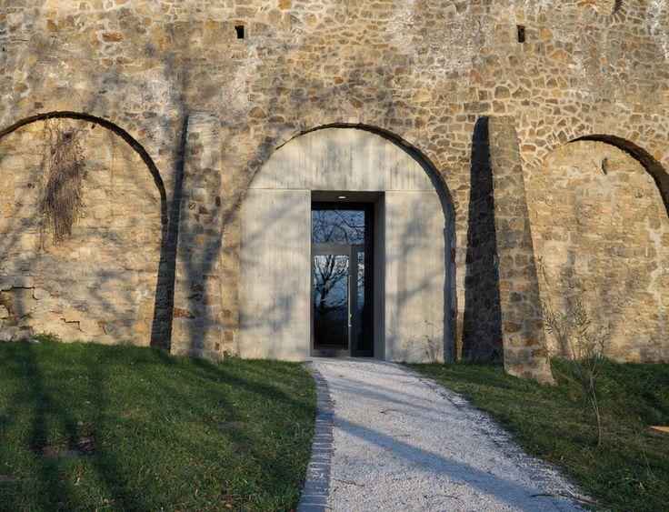 CZITA ARCHITECTS, Tamás Czigány · NEW VISITOR ENTRANCE • BENEDICTINE ARCHABBEY OF PANNONHALMA · Divisare