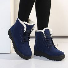 Botas femininas женщины сапоги 2017 новое прибытие женские зимние сапоги теплый снег сапоги мода туфли на платформе дамской одежды ботильоны(China (Mainland))