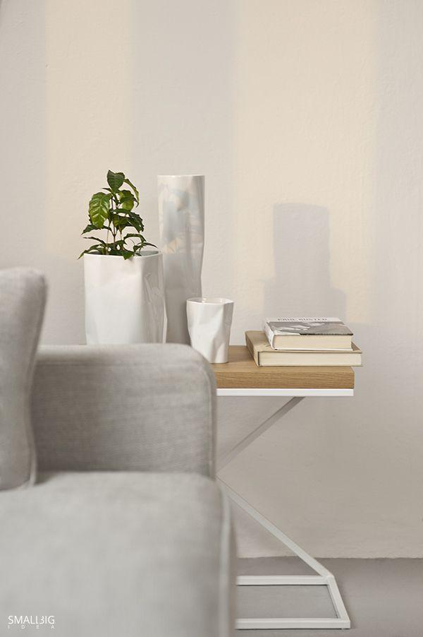 © smallbigidea.com Cofea Arabica and bent series white ceramics.