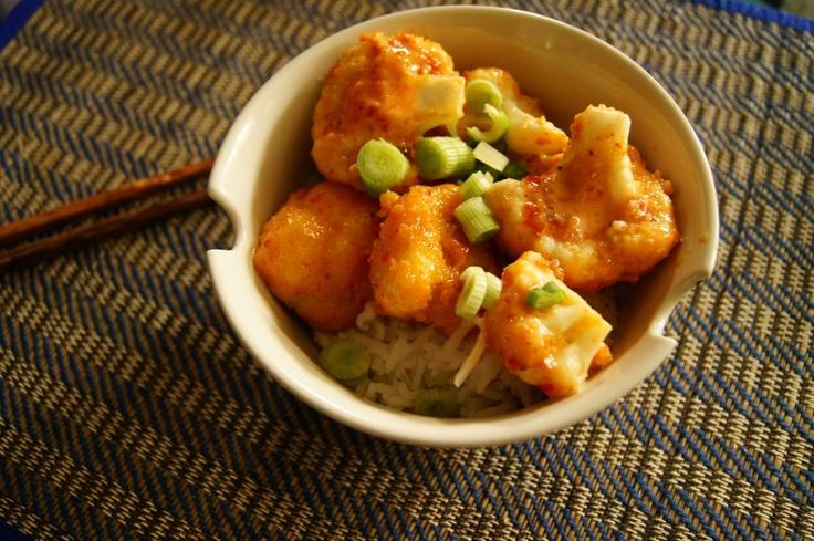 Bang BangBloemkool (Cauliflower) - Dutch recipe with link to English recipe! #tastesocial