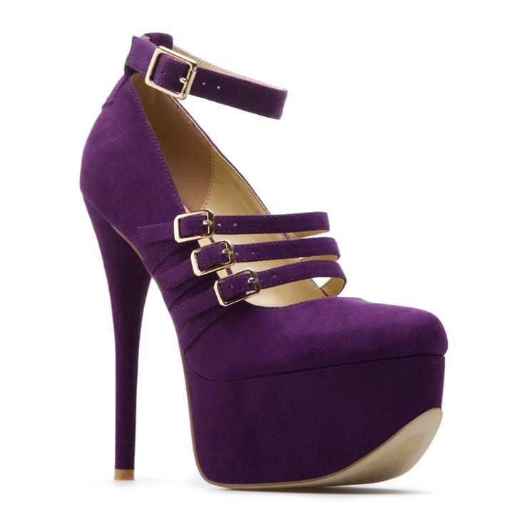 purple: Capri Heels Super, Purple Shoes, Shoe Dazzle, Shoedazzle Purple, Capri Heels Luv, Style, Clothes, Color, Capri Heels Oh