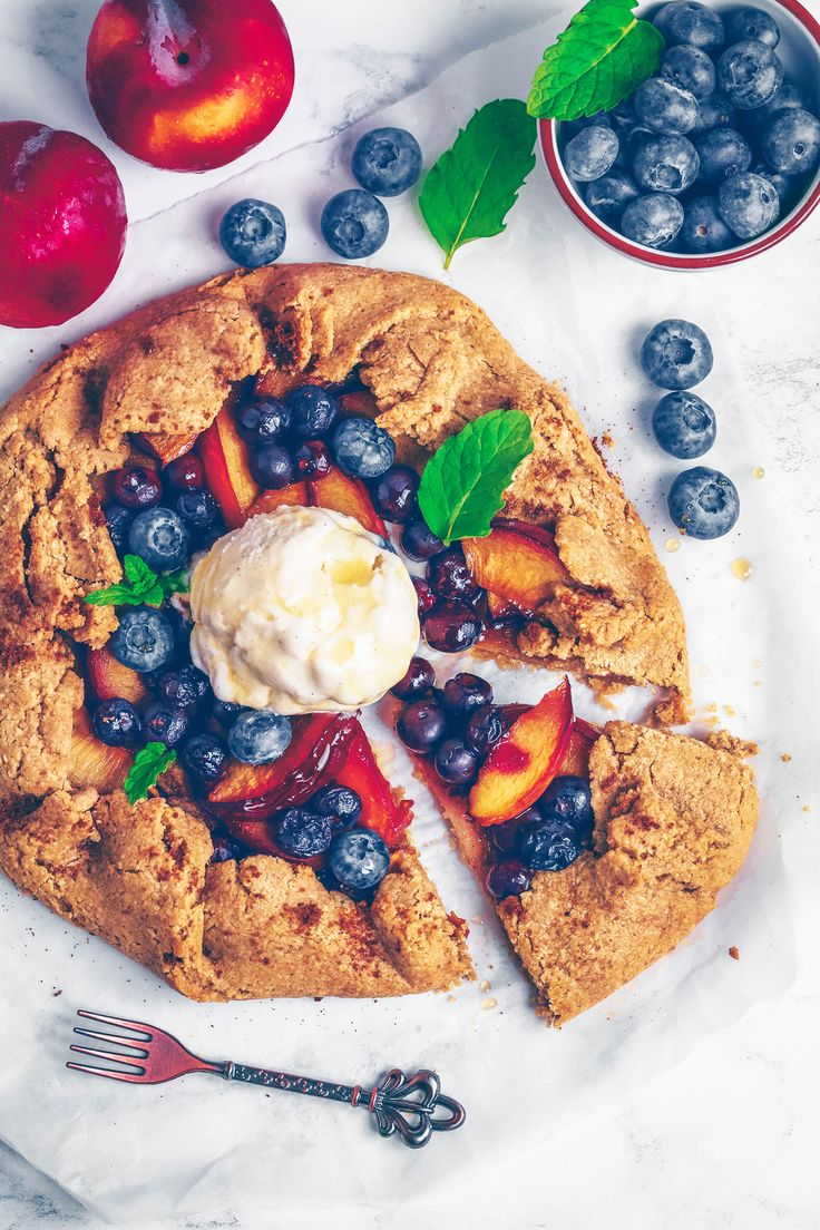 Plum Blueberry Galette (Vegan & Gluten-free) The weekend is finally here! It's been a long and tiring week, and even though I'll still be working today and tomorrow, I love the calmness that comes with…