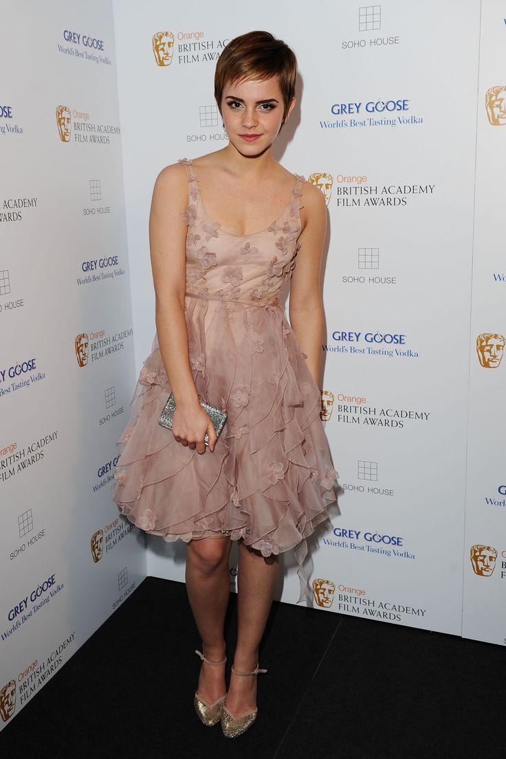Emma Watson sieht mit Bubikopf auch toll aus