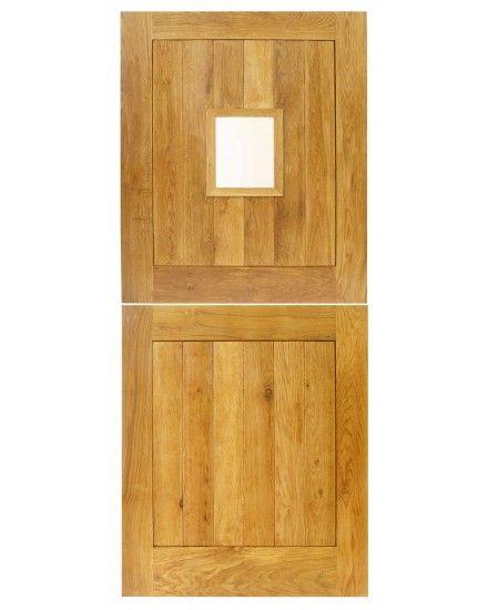 External Cottage Stable Solid Oak Door