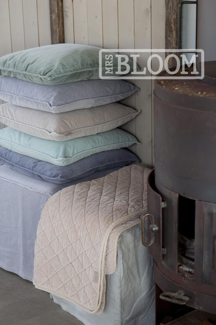 MrsBLOOM Collection AW2014. Plaids & Cushions.