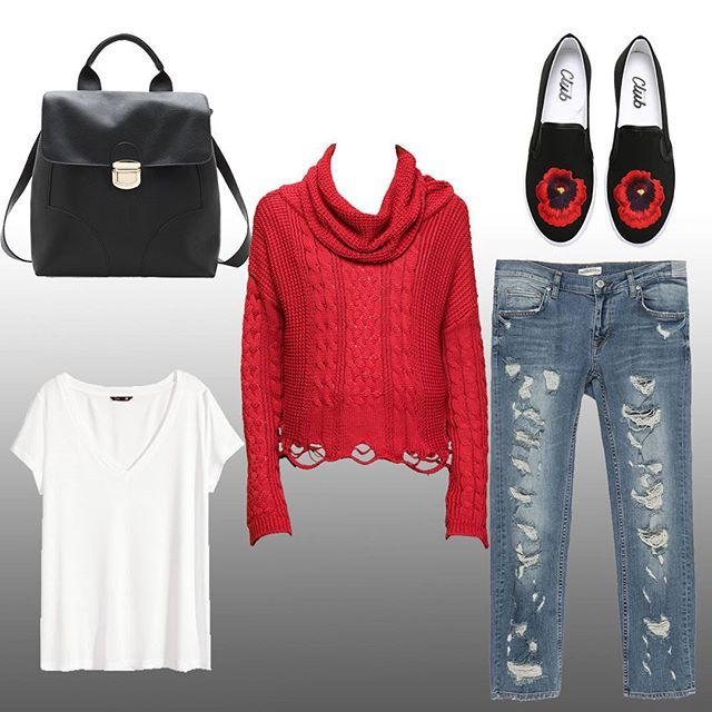 Last look of sunday.. ❤ Pazar gününün son stili.. Zara Pantalon, @zara jeans *149,95tl Modagram kazak, @modagram knit *49,99tl H&M tshirt, @hm shirt *24,99tl Stradivarius Çanta, @stradivarius Bag *89,95tl Beymen Ayakkabı, @beymen shoes *299tl  #fashion #pashion #style #moda #tarz #stil #istanbul #jean #outfit #shoes #bag #tshirt