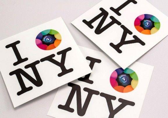 35 Contoh Desain Sticker Sebagai Media Promosi yang Efektif - 32. Kapture NY Stickers