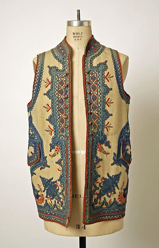1780 Eastern European Vest at the Metropolitan Museum of Art, New York