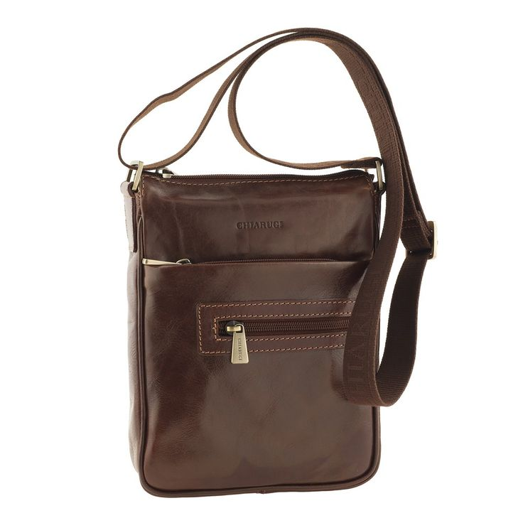 Borsa Tracolla unisex - 2539 - Chiarugi Pelletteria Firenze #leather #bags #madeinitaly