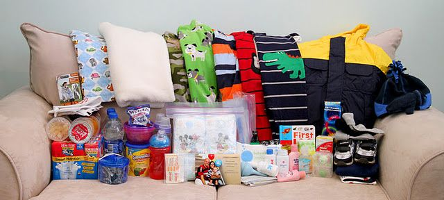toddler and infant 72 hour kits