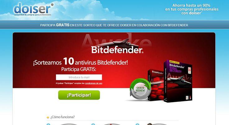 Sorteamos 10 suscripciones anuales a Bitdefender. ¡Participa ahora!